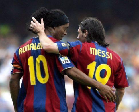 Messi më i miri i epokës së tij, jo i historisë, thotë Ronaldinho